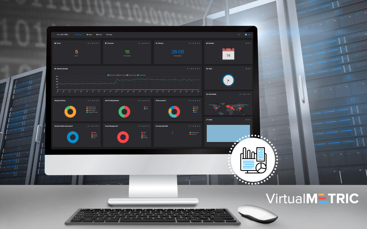 The New VirtualMetric – Evolved Dashboard and Exceptional UX