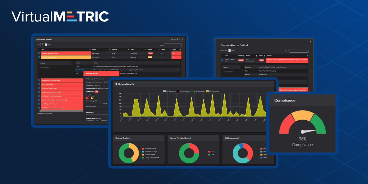 VirtualMetric Dashboard 2020: Unmatched Levels of Interactivity and Wide Set of New Features