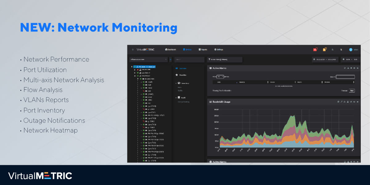 NEW: Network Monitoring  – New Addition to VirtualMetric Monitoring Suite