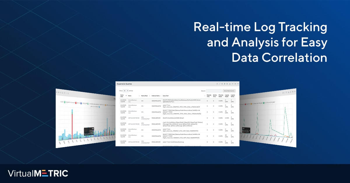 Real-time Log Tracking and Analysis for Easy Data Correlation