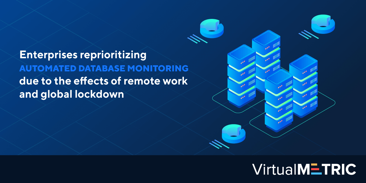 Enterprises reprioritizing automated database monitoring due to the effects of remote work and global lockdown