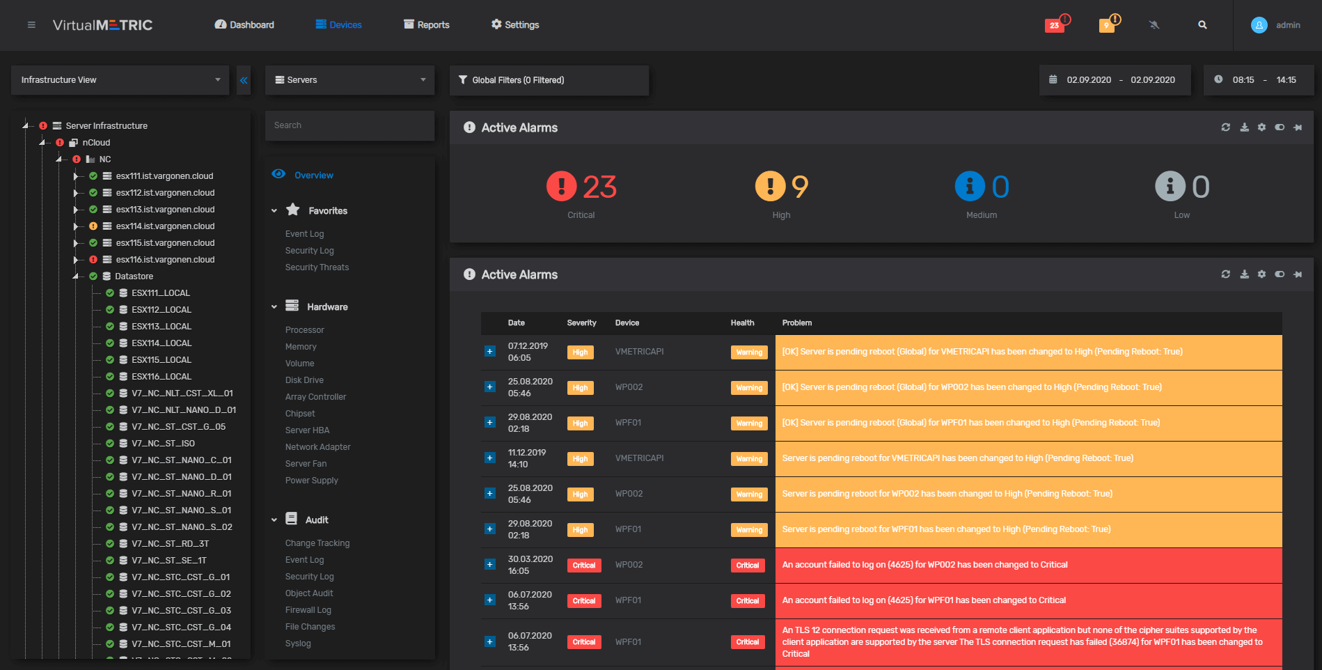 Microsoft Azure Stack HCI Monitoring Alarms and Notifications