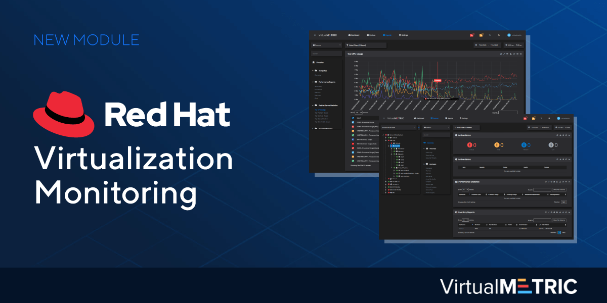 VirtualMetric Launches Red Hat Virtualization Monitoring