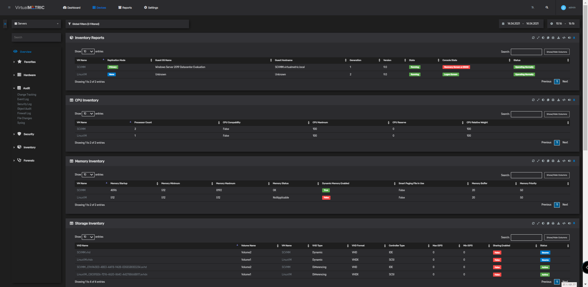 Centralized Assets Tracking