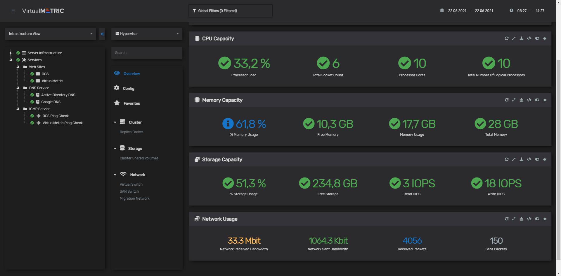 Complete Visibility to Ensure Azure Stack HCI Health